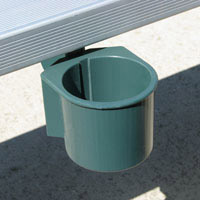 Cupguard Stadium Cup Holders By Spectator Sports Inc Provide Fans The Convenience To Hold Their